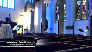 Choir Anthem: Geistliches Lied (September 13, 2020)