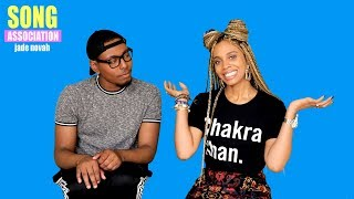 Jade Novah sings H.E.R., SZA, and Brandy | Song Association