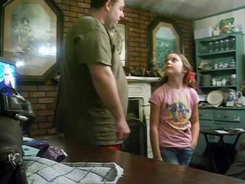 9 year old Jenny meets her daddy for the first time!!!