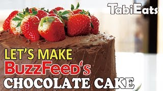 Making Buzzfeed's Ultimate Chocolate Cake