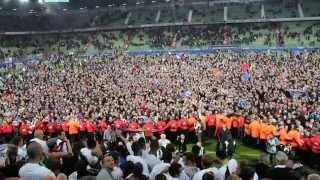 Caen-Nîmes : Malherbe Fête La Montée ! (13 Mai 2014)