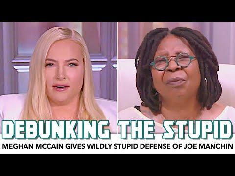 Meghan McCain Gives Wildly Stupid Defense Of Joe Manchin