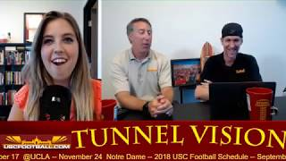 Tunnel Vision - Wrapping up USC fall camp 8/23