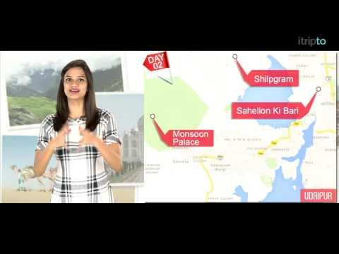 Video Udaipur tour: 2-day itinerary in 60 seconds