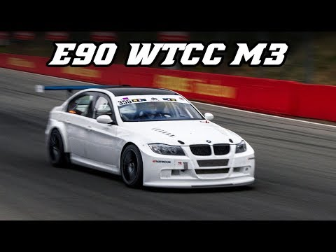 BMW E90 WTCC M3 with S54 engine  - Great intake sound (Zolder 2018)