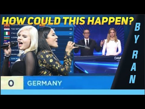 Why did Germany (Sisters - Sister) get 0 points at the Eurovision Song Contest 2019?