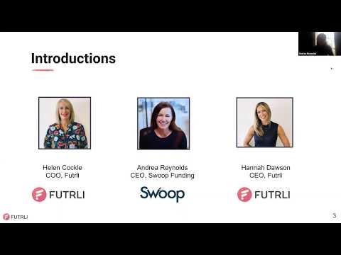 Swoop CEO Andrea Reynolds - Futrli Webinar