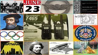 TODAY IN HISTORY - 23 JUNE - ON THIS DAY HISTORICAL EVENTS