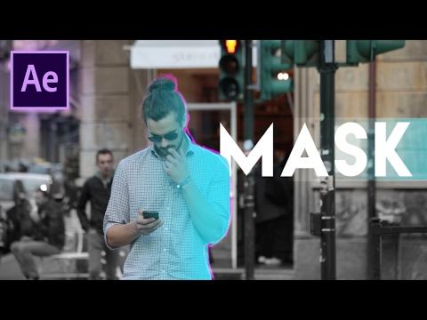 Die Masken für die Person mit dem Wirrwarr Videos