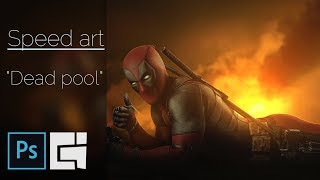"""Photoshop - Speed art - """"Dead Pool""""/Braginskoy"""