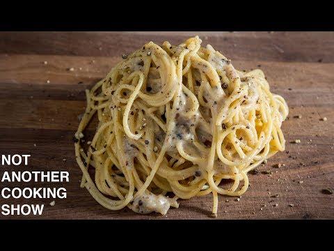 how to make REAL CACIO E PEPE pasta
