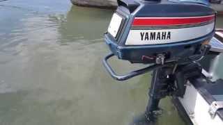 幻シリーズ「船外機」第2弾!!YAMAHAヤマハ2スト4.5A-672空冷S「2号機」その2