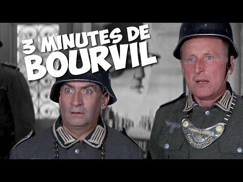 3 minutes de Bourvil avec Louis de Funès !