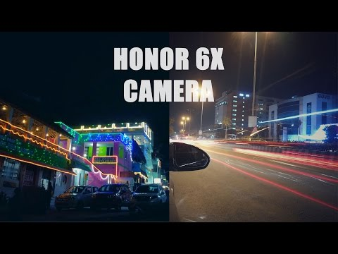 A Night with the Honor 6X Camera!