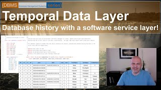 Creating a Temporal Database: Data history with a Temporal Data Layer (or TDL) using 4DFLib