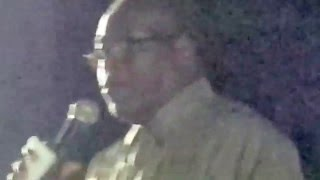 OSSIE ANDROS PRESENTS: Bishop Washington Williams a.k.a. 'Lil Washie' Live