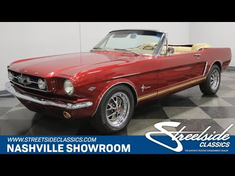 Video of '65 Mustang - MZ6C