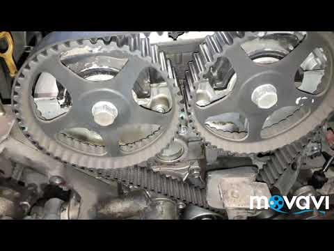 Hyundai SONATA 2 замена ремня грм основные моменты