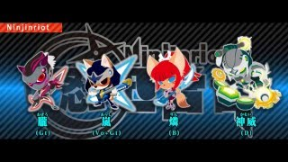 SHOW BY ROCK!! - Ninjinriot - Soldier named the shadow [FULL Ver.]