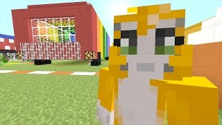 Minecraft: Xbox - Building Time - Party Bus {70}