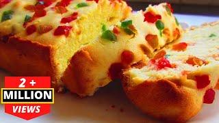 TUTTI FRUTTI CAKE in Pressure Cooker - KIDS SPECIAL CAKE - टूटी फ्रूटी केक कुकर में बनाये