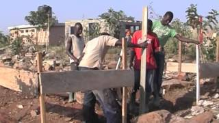 preview picture of video 'aquaponics project at centre de formation liweitari, benin, west africa'