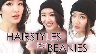 Hairstyles for Beanies -- All Things Hair