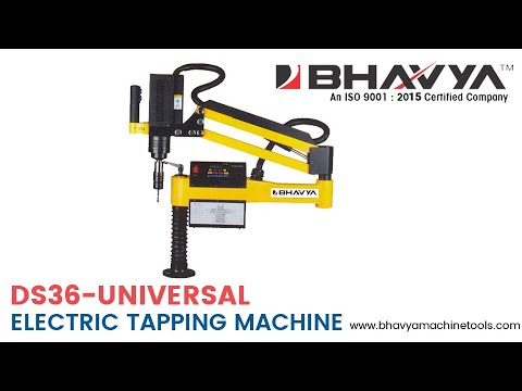MR-DS36 Universal Head Type Electric Tapping Machine