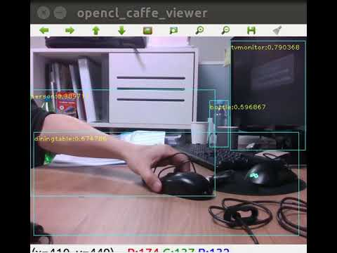 HSV algorithm object tracking by Realsense D435 and ROS
