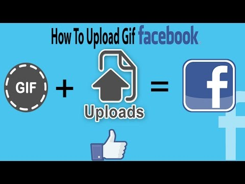 How to upload a GIF in Facebook - upload animated gifs on facebook