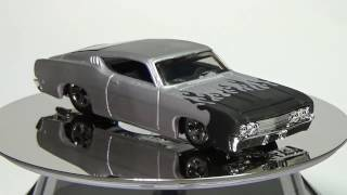 Hot Wheels Cars Customized with Laser Engraver