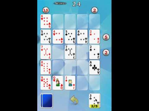 Video of Poker Square