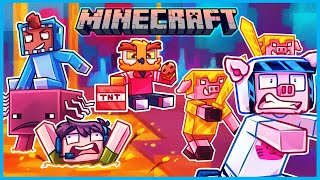 Minecraft but we're too stupid for the new nether update...
