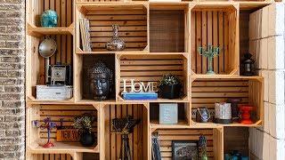 Πώς να διακοσμήσεις έξυπνα το σπίτι σου με παλιά ξύλινα κουτιά Title