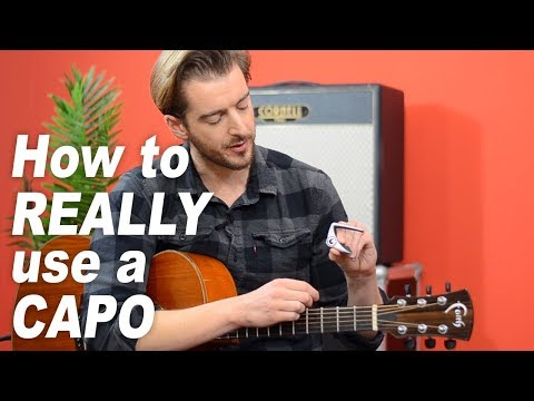 How to use a capo (and why you NEED to get one!)