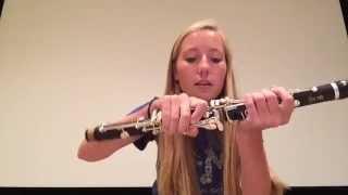 How to play the clarinet (basics)