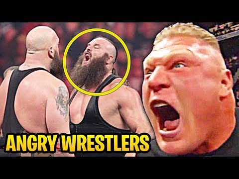 WWE Wrestlers Angriest Moments In The Ring Recently!