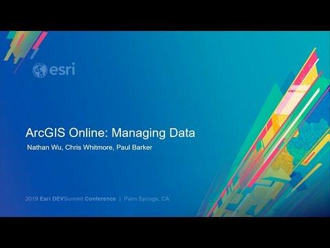 ArcGIS Online: Managing Data - YouTube