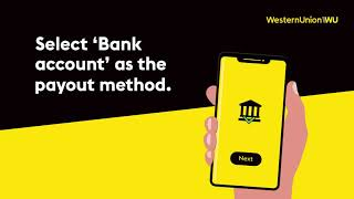 Western Union How to send money online to bank accounts Advert