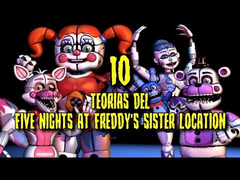10 Teorías de Five Nights at Freddy's Sister Location (FnaF 5)