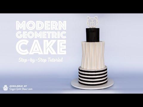 new-online-course--modern-geometric-cake--on-sugar-geek-show