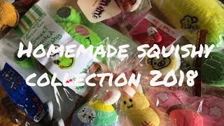 Hjemmelavet squishy samling 2018 ||Emmelie11squishy||