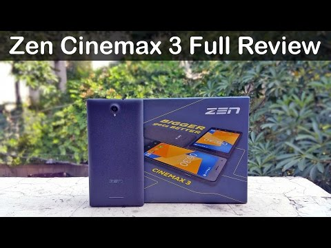 Zen Cinemax 3 Full Review - Unboxing, Performance, Camera test & Price in India