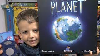 Planet (Blue Orange / asmodee) - ab 8 Jahre - wow was für ein innovatives Familienspiel