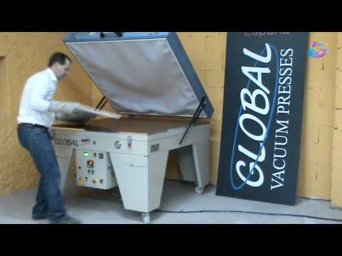 Dye Sublimation Process in Solid Surface Using Vacuum Press