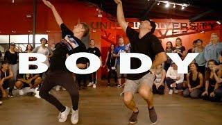 """BODY""   Dreezy Ft Jeremih Dance | @MattSteffanina Choreography"