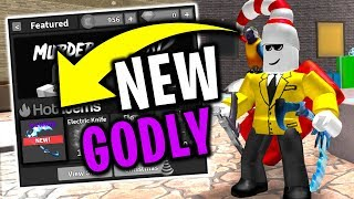 How To Get A Godly The Easy Way Roblox Murder Mystery 2 Youtube New Godly Roblox Murder Mystery 2 Minecraftvideos Tv