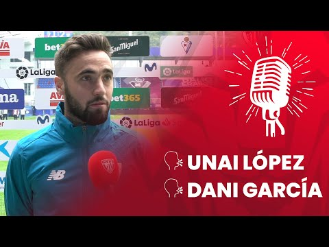 🎙 Unai López & Dani García | post SD Eibar 1-2 Athletic Club | J3 LaLiga 2020-21