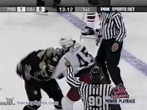 Darcy Hordichuk vs Jody Shelley