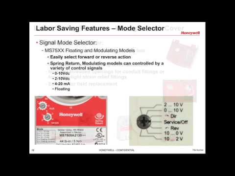 Honeywell Control Valve Actuator ML6420A3007-E